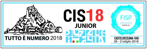 Campionato Italiano Sudoku Junior 2018