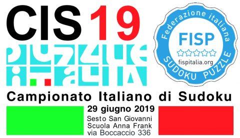 Campionato italiano sudoku 2019